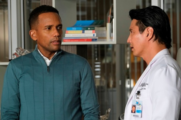 The Good Doctor Season 4 Episode 3 Photo - HILL HARPER, WILL YUN LEE