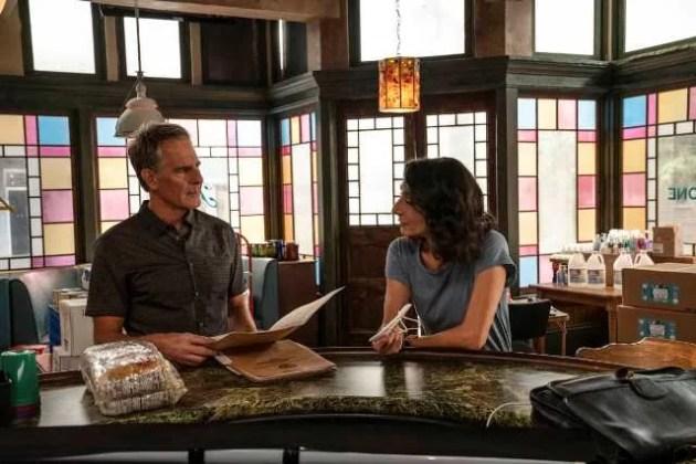 NCIS-New-Orleans-Season-7-Episode-2.-L-R-Scott-Bakula-as-Special-Agent-Dwayne-Pride-and-Chelsea-Field-as-Rita-Devereaux-