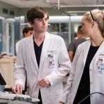 The Good Doctor Season 4 Episode 4 Photo - FREDDIE HIGHMORE, FIONA GUBELMANN