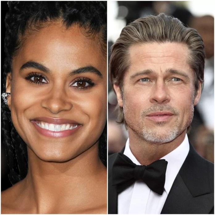 David Leitch's Bullet Train Joining Cast Zazie Beetz alongside Brad Pitt