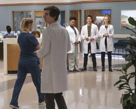 "The good doctor episode 409 ""IRRESPONSIBLE SALAD BAR PRACTICES"""