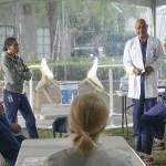 Greys Anatomy Season 17 Episode 10 Photo - KELLY MCCREARY, JAMES PICKENS JR., JESSE WILLIAMS