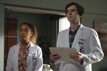 The Good Doctor Season 4 Episode 12 - PAIGE SPARA, FREDDIE HIGHMORE