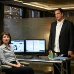MacKenzie Meehan as Taylor Rentzel and Michael Weatherly as Dr. Jason in Bull Season 5 Episode 16 Photos