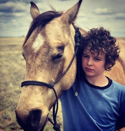 Finn Little as Carter in Yellowstone s4