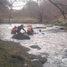 Swift water filming