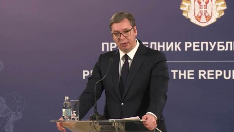 VUČIĆ KOMENTIRAO PREKROJAVANJE GRANICA NA BALKANU! Snažna pljuska Dodiku: 'Svaki put mu govorim, cijepanje BiH se neće dogoditi'!