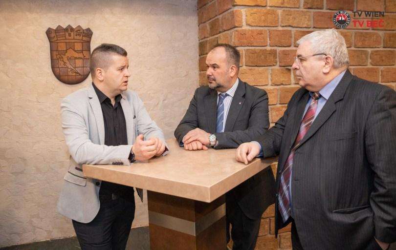 Veleposlanik Daniel Glunčić u posjeti FA Šokadija Beč