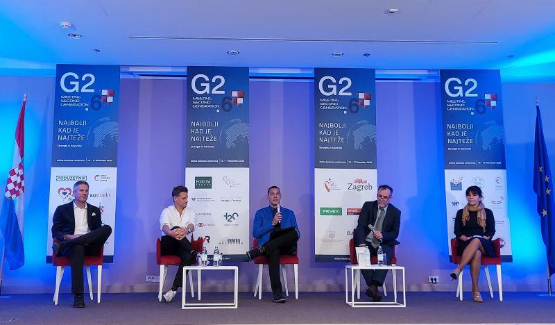 Udruga hrvatskih poduzetnika na G2.6 MEETING on line