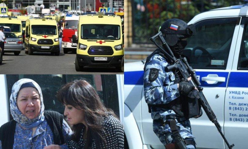 Najmanje 11 mrtvih u pucnjavi u ruskoj školi, učenici u bijegu skakali kroz prozor