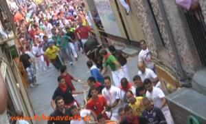 Toro Enmaromado 2011 en carrera