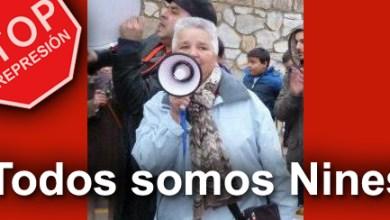 Photo of ENTORNO A 400 PERSONAS  SECUNDAN LA MANIFESTACIÓN EN APOYO A 'NINES'