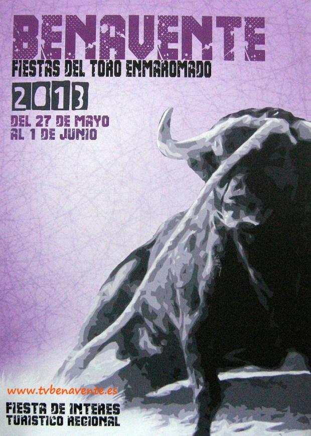 Cartel del Toro Enmaromado 2013 Benavente