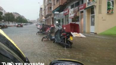 Photo of Algo más de 41 litros por metro cuadradro en una hora acaba de descargar la tormenta en Benavente.
