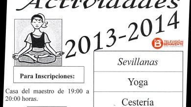 Photo of ACTIVIDADES 2013 – 2014 EN EL BARRIO SANTA CLARA
