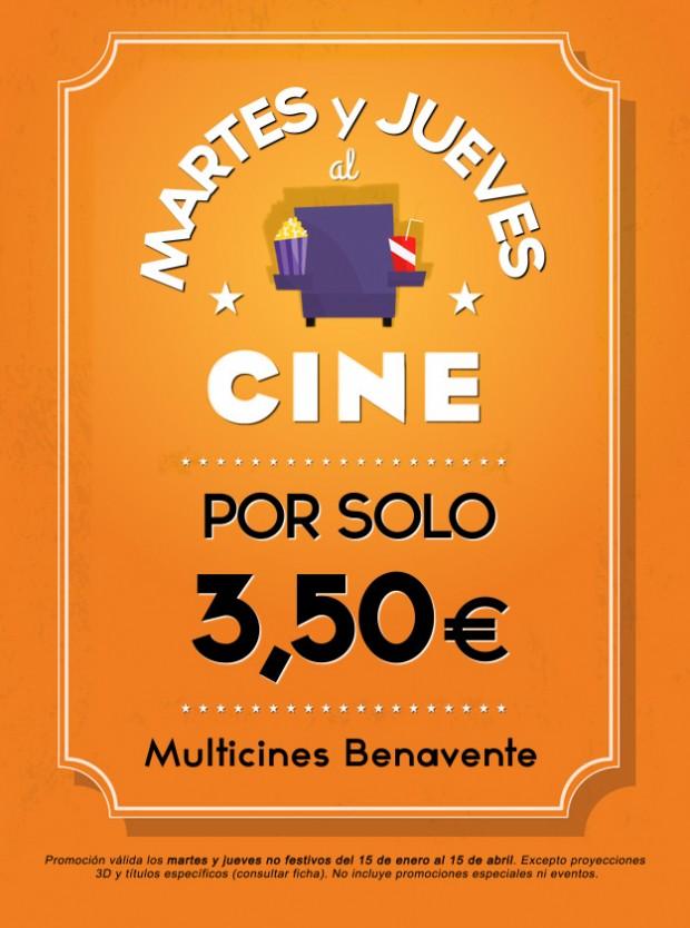 Fiesta del CINE - Martes y jueves - Multicines Benavente