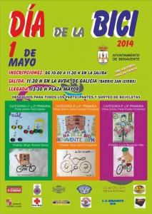 Dia de la bici - Cartel 2014-concurso