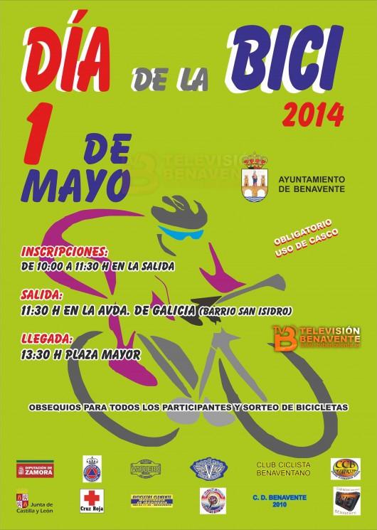 Dia de la bici - Cartel 2014