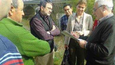 Photo of La subdelegada del Gobierno Clara San Damián visita las zonas afectadas por las inundaciones