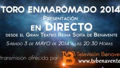 Photo of PRESENTACIÓN DEL TORO ENMAROMADO en DIRECTO con Televisión Benavente