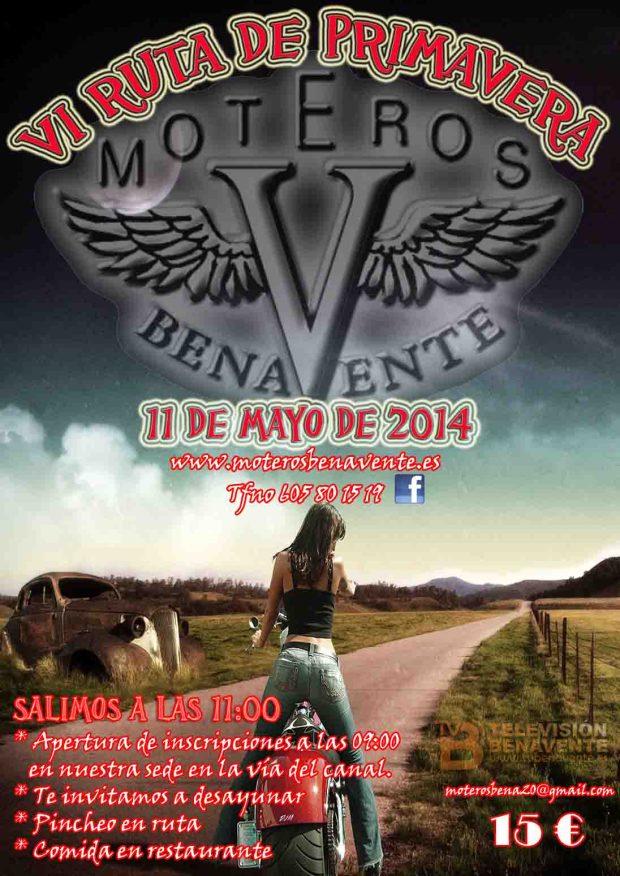 moteros benavente - ruta de primavera 2014
