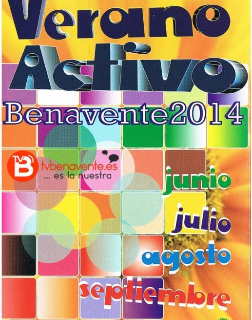 VERANO ACTIVO CARTEL 2014