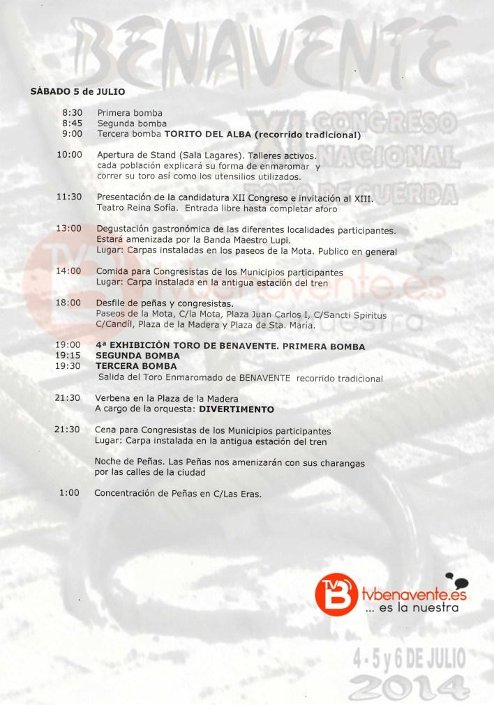 programa congreso toros 2