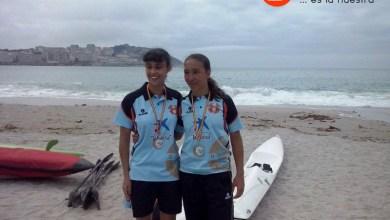 Photo of Carolina Ganado Subcampeona de España y participante en los XX Juegos Náuticos Atlánticos
