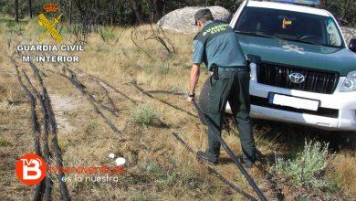 Photo of La Guardia Civil detiene a un ciudadano rumano como supuesto autor de tres delitos de robo de cobre en líneas telefónicas