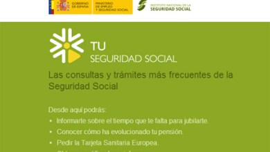 Photo of LA SEGURIDAD SOCIAL PONE EN MARCHA UNA OFICINA VIRTUAL