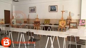 expo cáritas pintura
