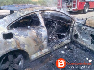 incendio coche a66 2
