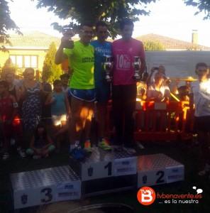 podio audanzas del valle atletismo