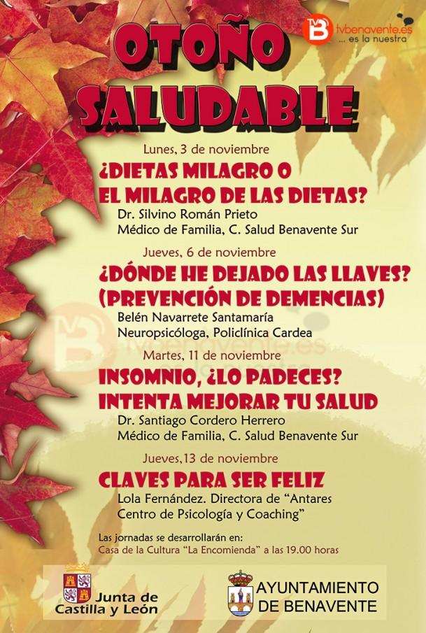 Cartel Otoño Saludable 2014