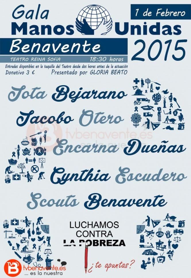 gala manos unidas 2015 benavente