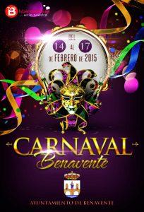 Cartel Oficial · Carnaval Benavente 2015