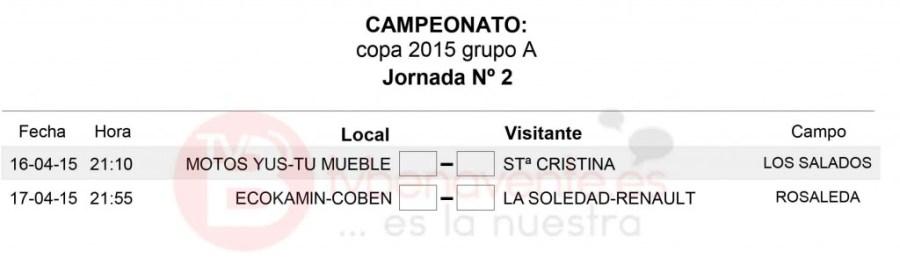 JORNADA 2 GRUPO A - copa veteranos futbol sala benavente