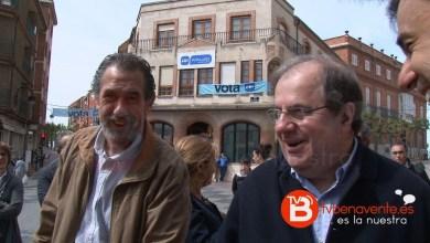 Photo of Juan Vicente Herrera ha visitado Benavente para apoyar al actual alcalde Juan Dúo
