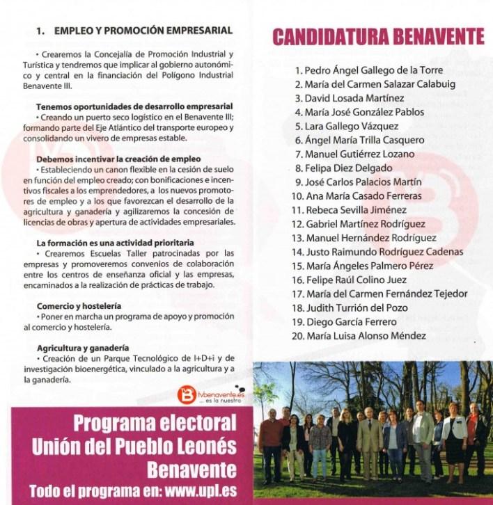 programa electoral UPL 2