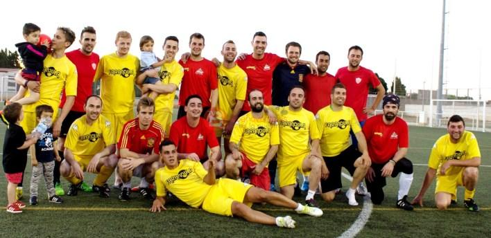 Foto final de Liga, Eguipos: Campeón y Subcampeón