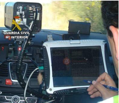 Radar - Guardia Civil de Tráfico - Benavente