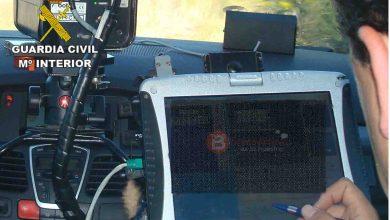 Photo of Interceptado un vehículo a 224 Km/h en la A – 52