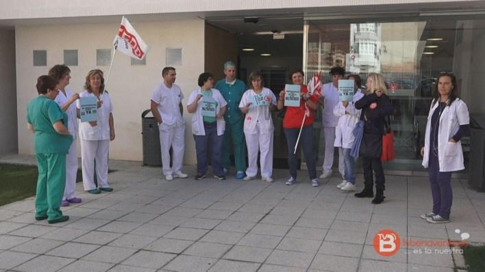 Concentración enfermeras Benavente