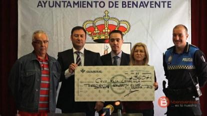 Cheque Caja Rural a Cuz Roja 01