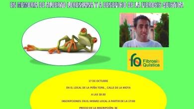 Photo of La peña el toril convoca un concurso de rana a beneficio de la enfermedad, fibrosis quística