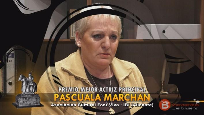 PREMIO MEJOR ACTRIZ PRINCIPAL - TEATRO BENAVENTE 2015