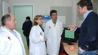 Photo of La presidenta de la diputación visita el consorcio de promoción de ovino en Villalpando