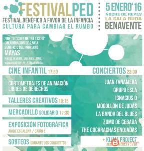 Festivalped cartel - tvbenavente