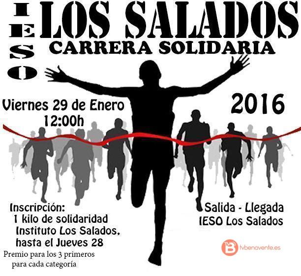 I CARRERA SOLIDARIA - IESO LOS SALADOS - tvbenavente