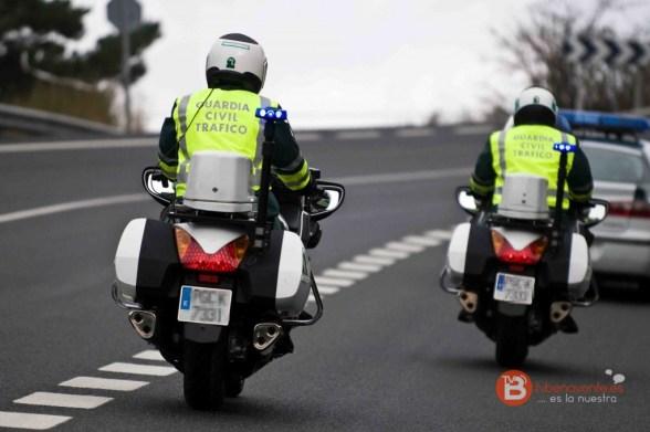 foto motos tráfico - guardia civil - tvbenavente
